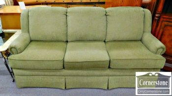 2-1 Olive Color Upholstered Sofa