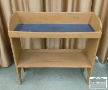 3383-235 - Primative Painted Bucket Bench
