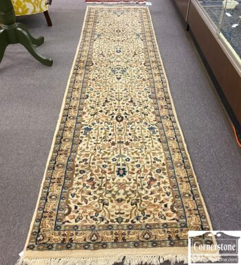 3388-582 - Wool Hand Knotted Runner