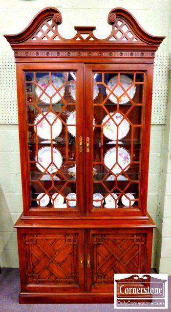 3959-1062 Henredon Mahogany Bookcase