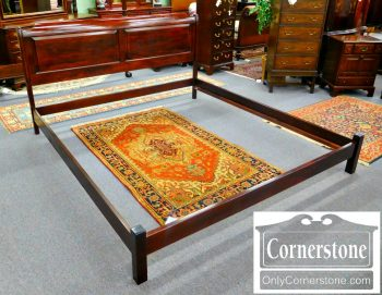 3959-1163 Stickley Solid Mahogany King Bed