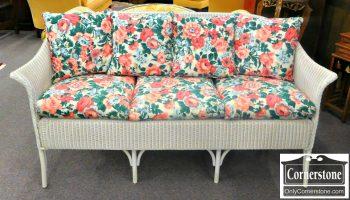 3959-1213 Lloyd Flanders Wicker Sofa