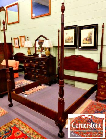 3959-1233-drexel-solid-mahogany-queen-poster-bed