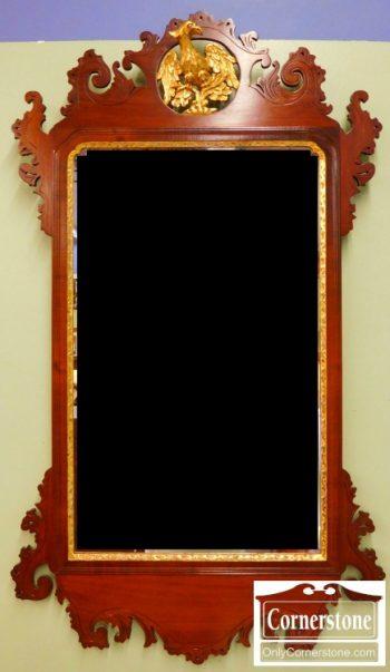 3959-1238 ornate chippendale mirror (1)