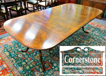 3959-1421-drexel-heritage-mahogany-pedestal-table-with-2-leaves