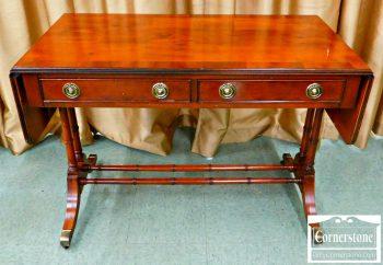 3959-1478-hekman-yewwood-regency-style-drop-leaf-desk