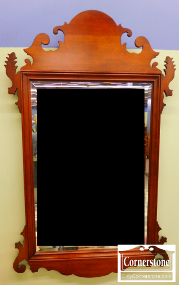 3959-1484 Stickley Chippendale Mirror 30.5x49
