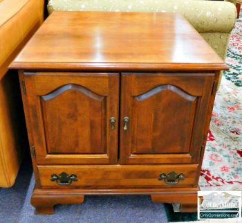 3959-1532 - Maple End Table Cabinet