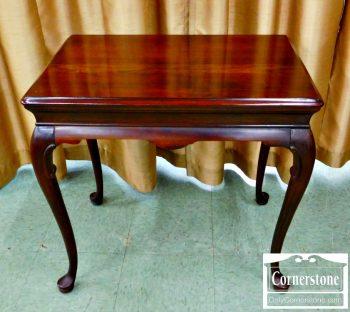 3959-1558 - Ethan Allen Solid Cherry Tea Table