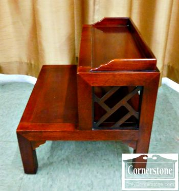 3959-1685 Drexel Heritage Mahogany Bed Steps