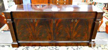 3959-1735 - Baker Mahogany Regency SideboardCredenza
