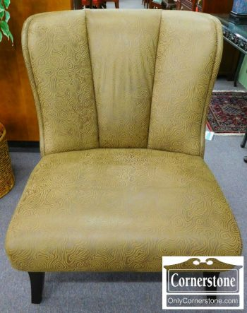 3959-1743 Hancock And Moore Leather Contemporary Occasional Chair