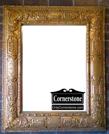 3959-1799 Windsor Art Gold Mirror (1)