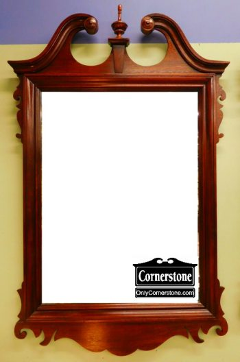 3959-1803 Hickory Chair Chippendale Mirror