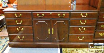 3959-1812 - Ethan Allen Solid Cherry Office Credenza