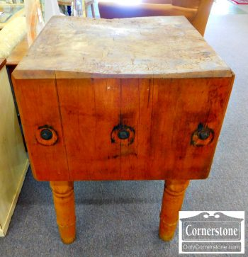 3959-1860 - Antique Butcher Block