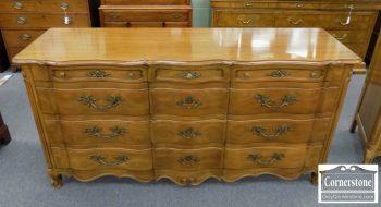 3959-1954 - John Widdicomb Cherry French Provincial Dresser