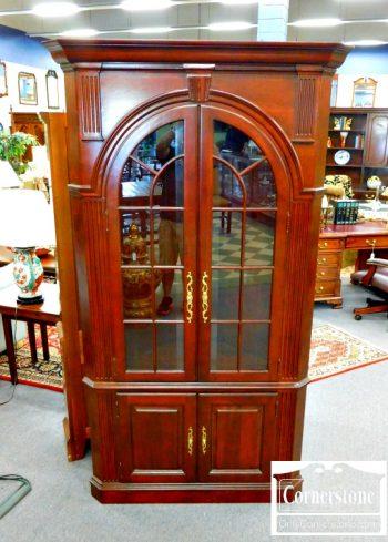 3959-1956 - PA House Cherry Corner Cabinet