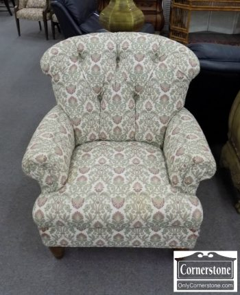 3959-1970 - Occasional Tufted Back Club Chair