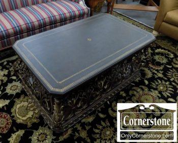 3959-2024 - Pulaski Leather & Iron Coffee Table