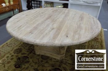 3959-2050 - Restoration Hardware Neoclassic Round Table