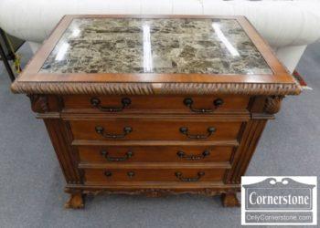 3959-2176 - Hooker Marbletop File Cabinet