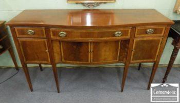 3959-2492 - Hickory Chair Mahogany Banded Sideboard