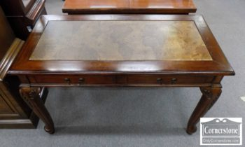 3959-2500 - Small Cherry Desk with World Map Insert