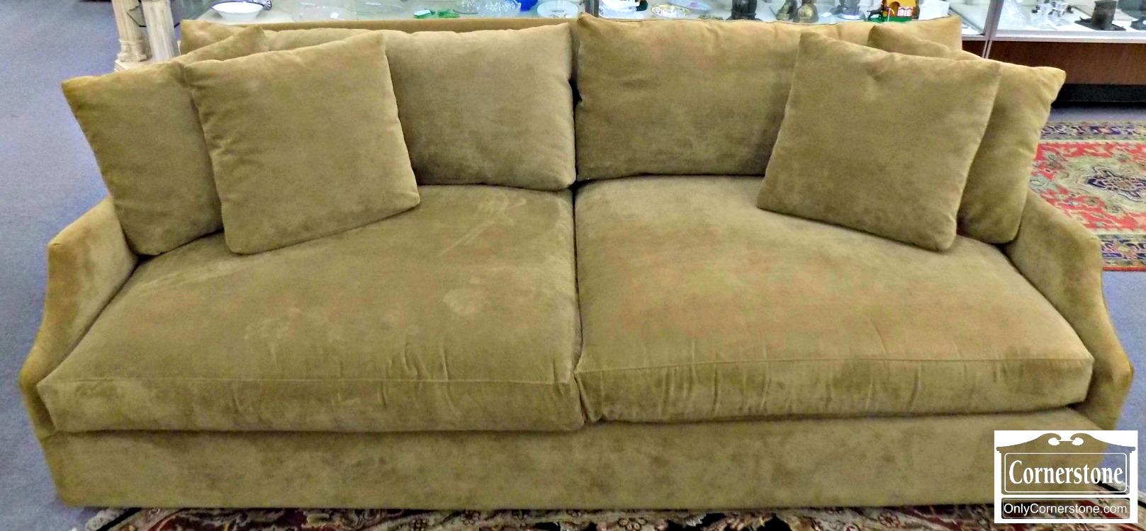 Arhaus Large Contemporary Olive Upholstered Sofa | Baltimore, Maryland  Furniture Store U2013 Cornerstone