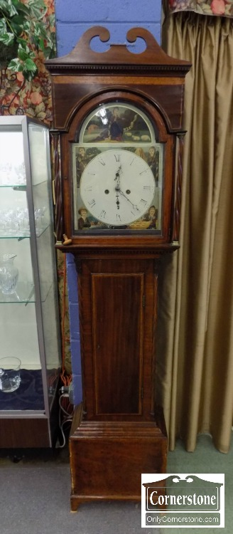 3959-2752 - Mahogany Tall Case Clock
