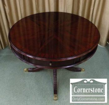 3959-2755 - Round Mahogany Table