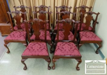 3959-2850 - 10 Henkel Harris Sol Mah 29 Chipp Chairs