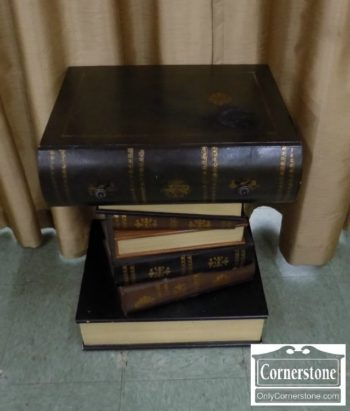 Book Form End Table