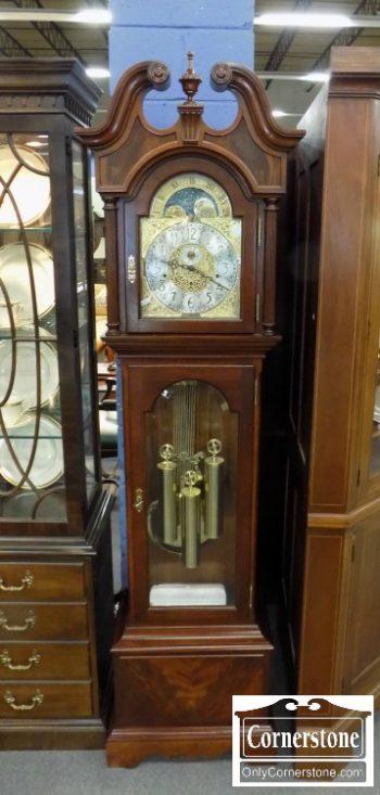 3959-2933 - Sligh Mah Grandfather Clock