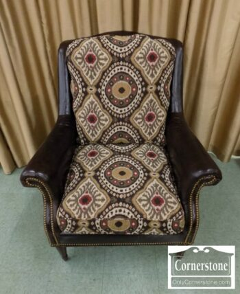 3959-3035 - C.R. Laine Uph Leather Collage Chair
