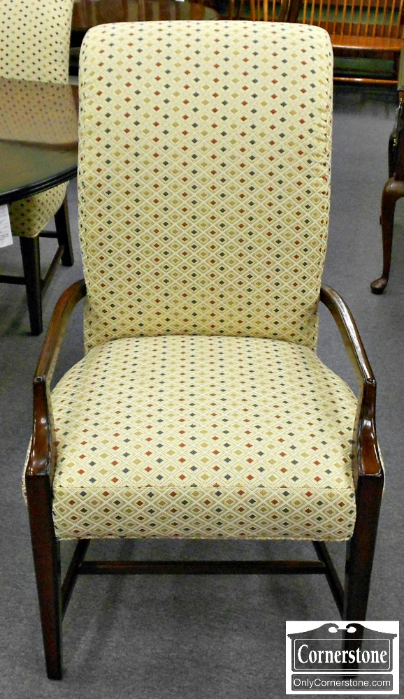 3959-866 PA House New Standards Fully Upholstered Dining Chairs