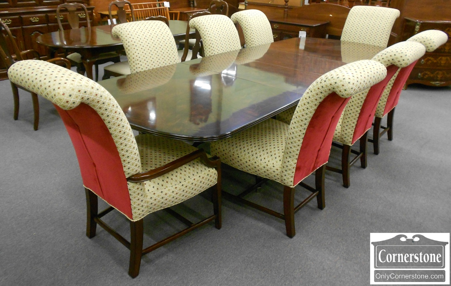 3959-866 Z PA House New Standards Fully Upholstered Dining Chairs