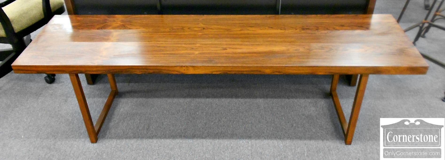 3959-879 Milo Baughman for Thayer Coggin Rosewood Mid Century Coffee Table