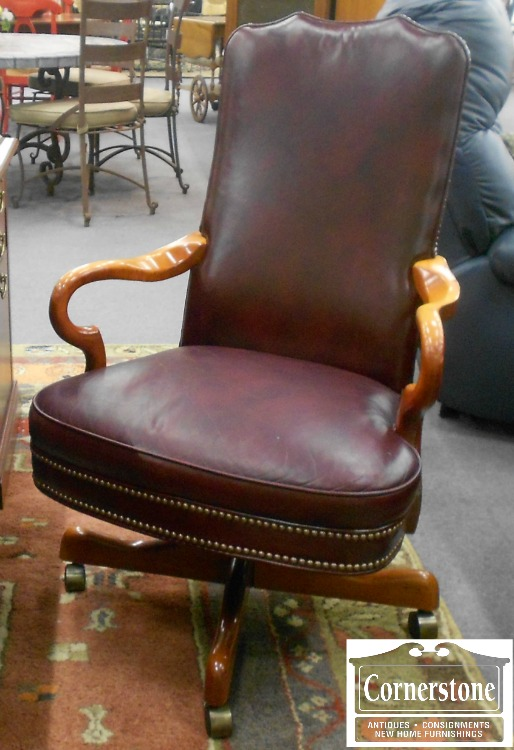 3959-886 Hickory Chair Executive Swivel Chair