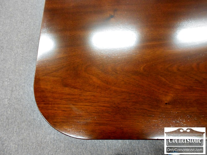 3959-922 Z Biggs Solid Mahogany Pedestal Dining Table