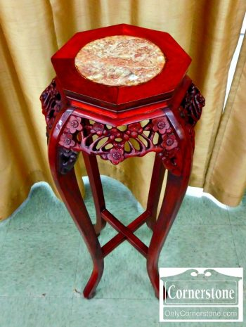 4454-1647 - Asian Marble Top Tabourette