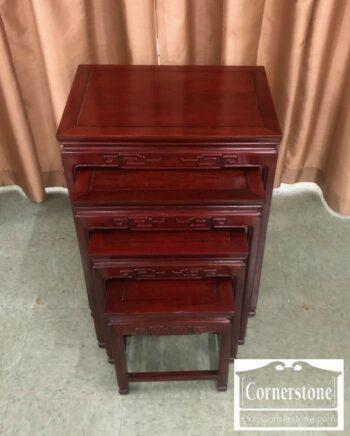4454-2127 - Mah Oriental Nesting Tables