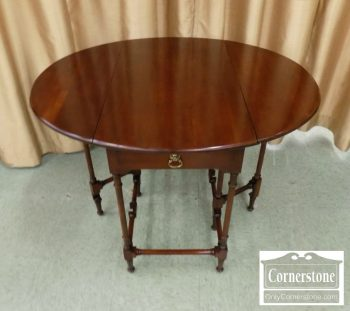 4884-2000 - Statton Cherry Dropleaf Table