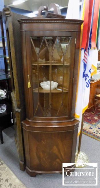4884-2622 - Mahogany Corner Cabinet