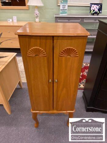 4884-2956 - Oak Jewelry Cabinet