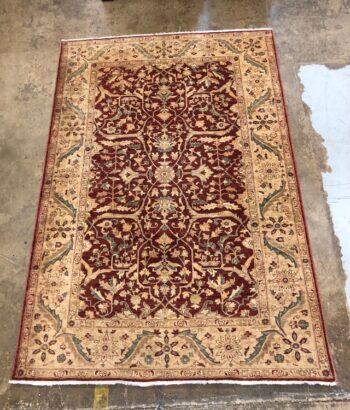 5966-22 used room size oriental carpet
