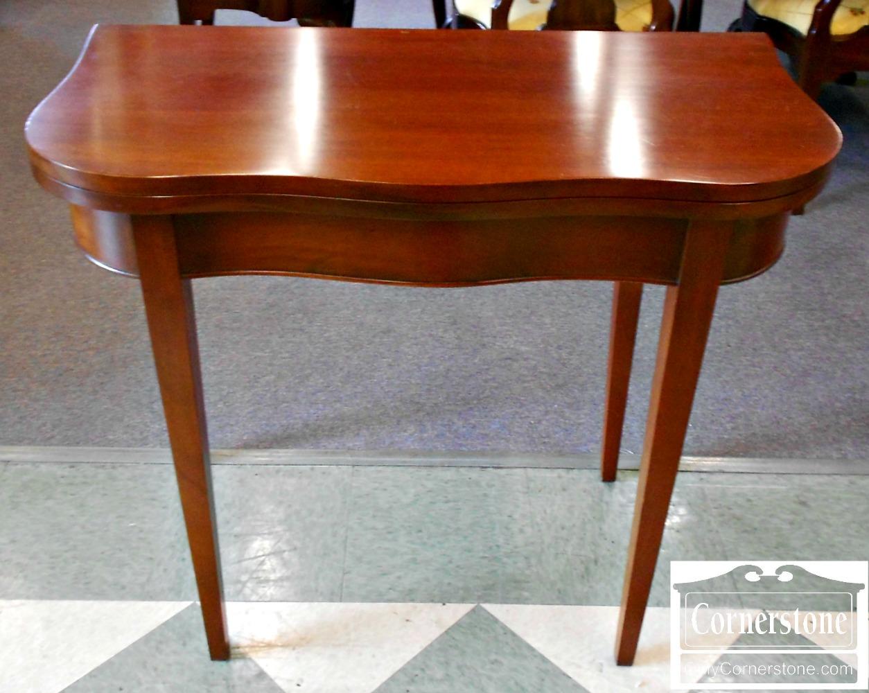 5208-889 Mahogany Game Table