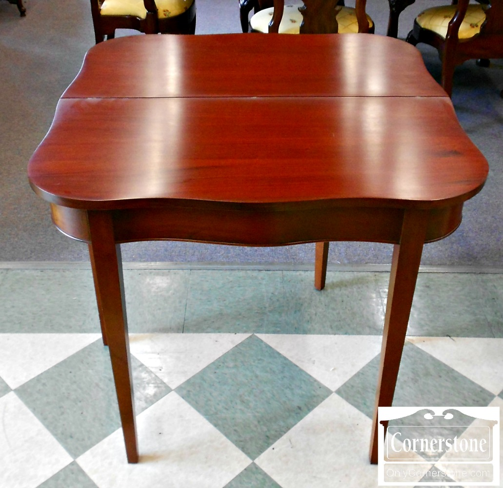 5208-889 Z Mahogany Game Table