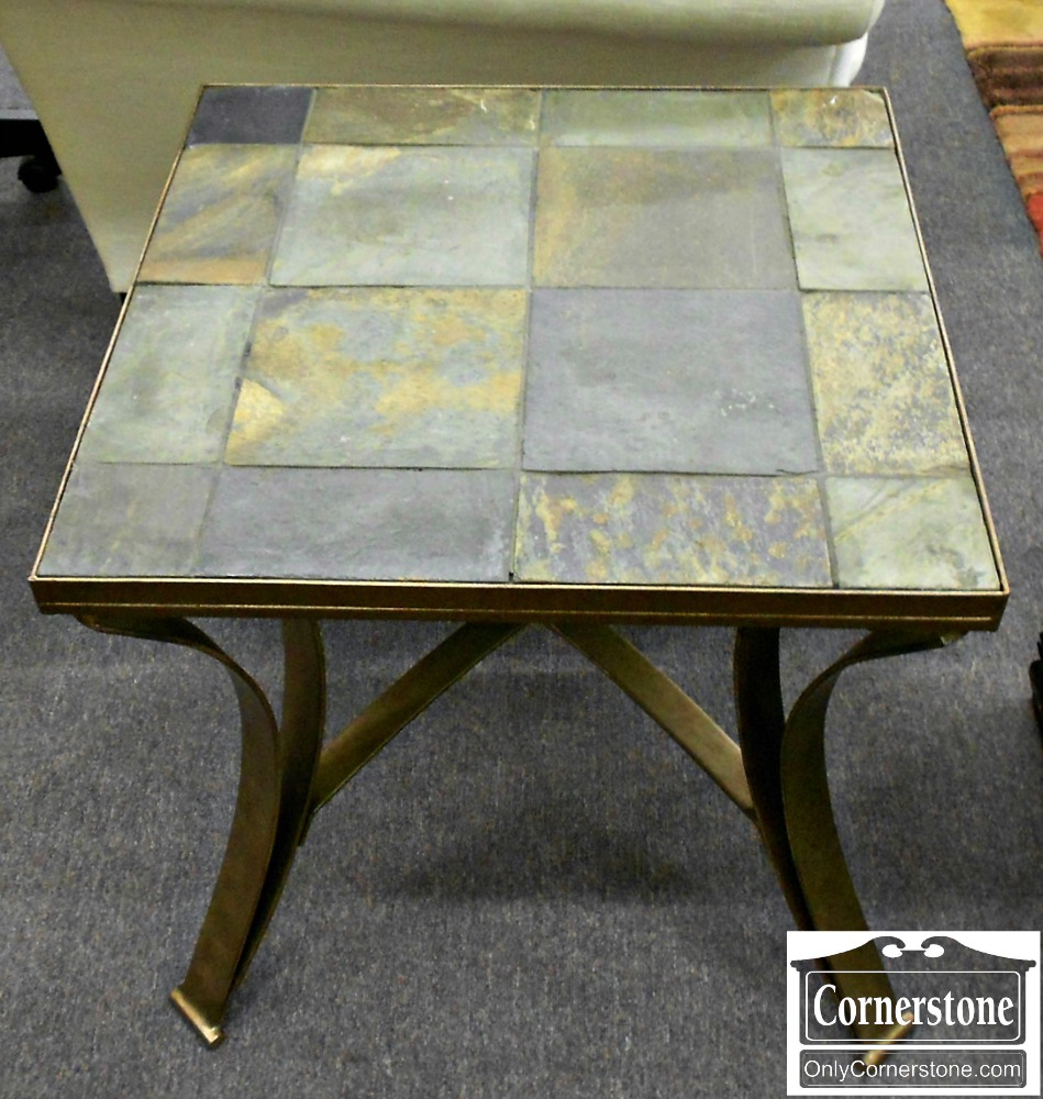 5208-960 Tile Top End Table