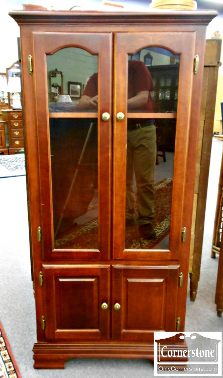 5208-981 Small Cherry Entertainment Cabinet